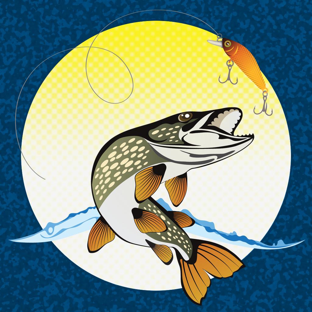 рыбалка эскизы