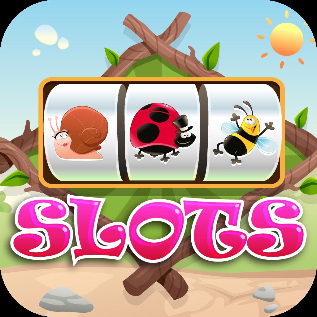 Animal Bug Slots - New Free Slot Game with Casino Gambling, Huge Payouts and Big Wins!